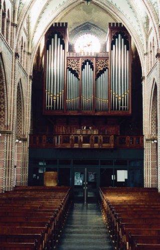 Het Maarschalkerweerd-orgel in de St.-Martinuskerk te Sneek