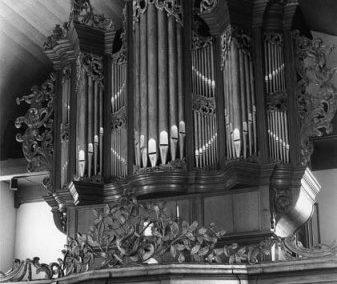 Het orgel in de Hervormde kerk te Driesum