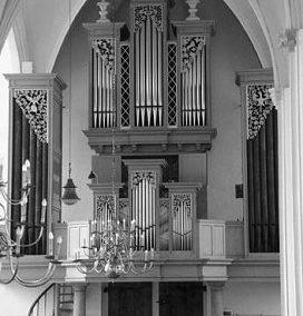 Het Flentrop-orgel in de Grote Kerk te Doetinchem
