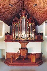 Foto vanaf de website van Steendam orgelbouw