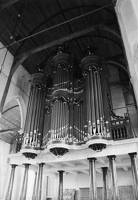 Ruim vijf eeuwen orgelhistorie in Martinikerk Franeker