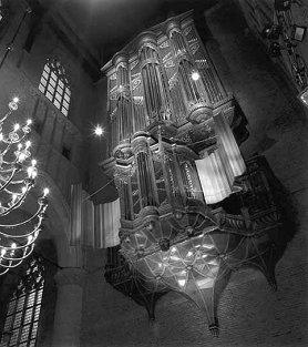 Het Van Hagerbeer-orgel in de Pieterskerk te Leiden