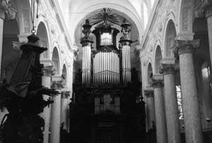Orgel in de Finisterrae-kerk