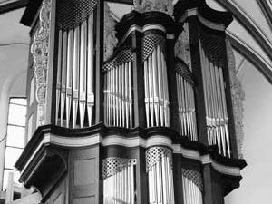 Het König/Verschueren-orgel in de Paterskirche te Kempen