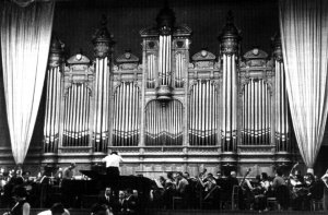 Moskou., Conservatorium, Cavaille-Coll, 1899