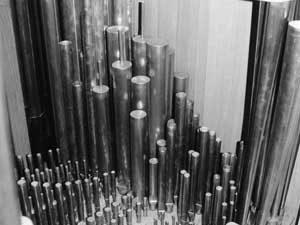 Het Verschueren-orgel in de St.-Petruskerk te Rogge