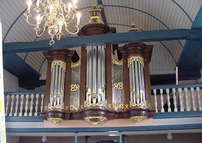Het orgel in de Hervormde Kerk te Duurswoude