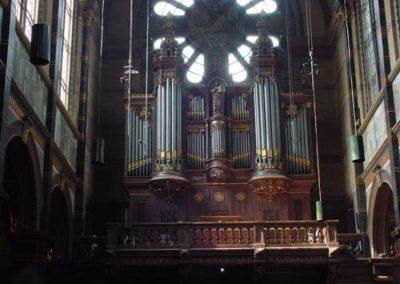 Het Sauer-orgel in de St. Nicolaaskerk te Amsterdam gerestaureerd