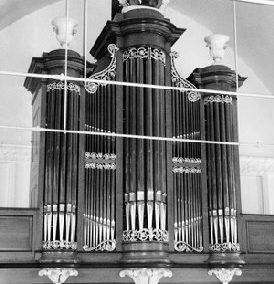 Het orgel in de Hervormde Kerk te Mijdrecht