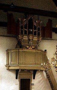 Het orgel in de Hervormde Dorpskerk te Sassenheim