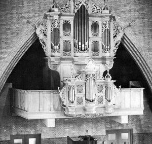 De orgelmakerij Gebr. Reil