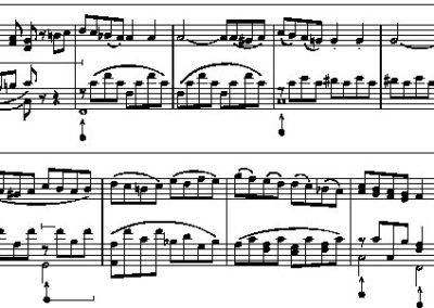De harmoniumvleugel van Liszt