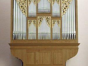 Het Verschueren-orgel in de abdijkerk van Averbode