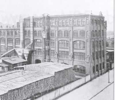 De fabriek van Dekker in Goes