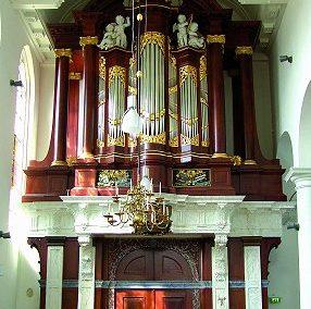 Het Müller-orgel in de Kapelkerk te Alkmaar