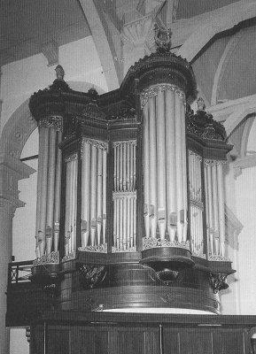 Het Knipscheer-orgel in de Noorderkerk te Amsterdam