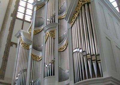 Bach-orgels in Ansbach en Dordrecht
