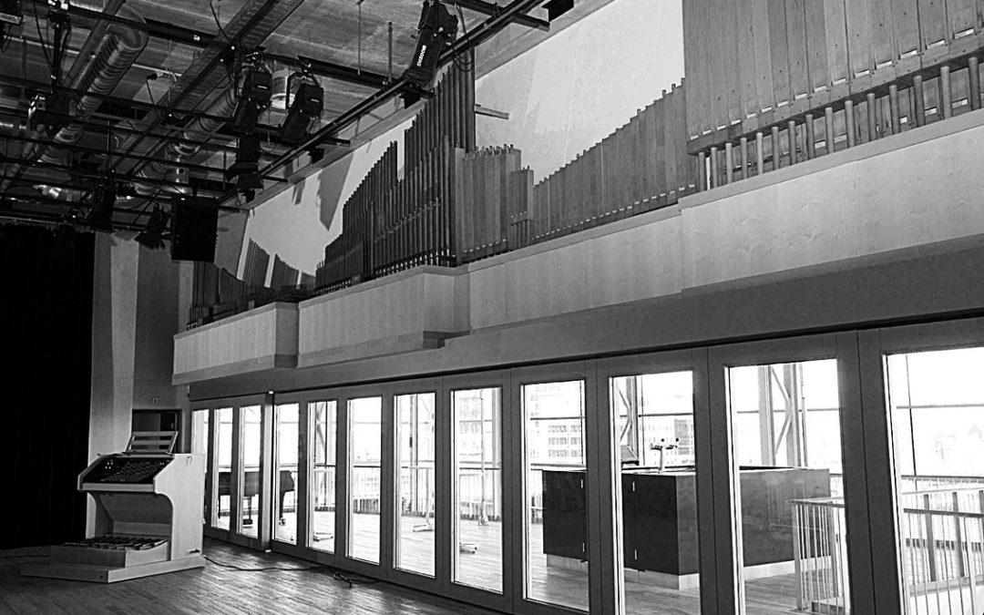 Orgelbouwnieuws: Amsterdam, Muziekgebouw aan 't IJ