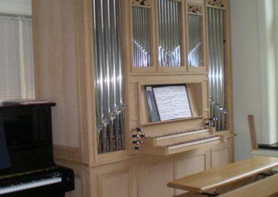 Orgelbouwnieuws: Hilversum, huisorgel familie Van Zonneveld