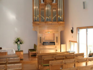 Orgelbouwnieuws: Kanagawa (Japan), Midorigaoka Church