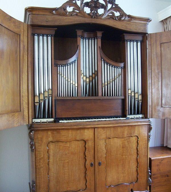 Orgelbouwnieuws: Sprang, kabinetorgel