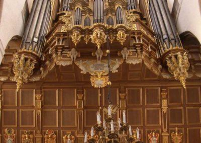 Schakel tussen Scherer en Schnitger. Het Stellwagen-orgel in de St.Marien te Stralsund gerestaureerd