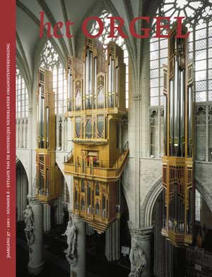Grenzing organ in Brussel-cathedral