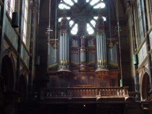 The restoration of the Sauer organ in the St Nicolaaskerk at Amsterdam by Henk Verhoef