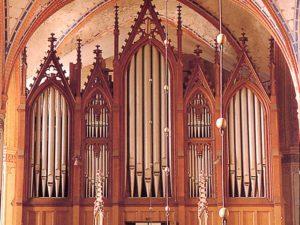 The Buchholz organ in St.-Nikolai in Stralsund by Rogér van Dijk