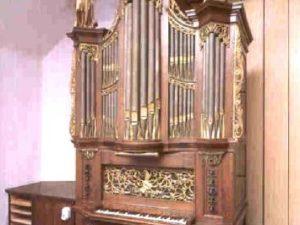The organ in Overlangbroek and the organmaker Albertus van Os by Peter van Dijk