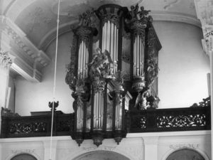 The Garrels organ in the Oud-Katholieke Kerk at Den Haag
