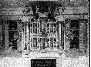 Kindten-organ in Gingst St. Jakobi
