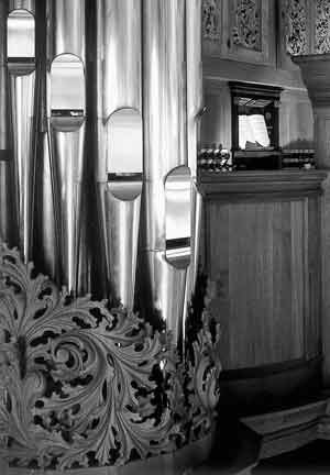 Organ Örgryte Nya Kyrka in Göteborg