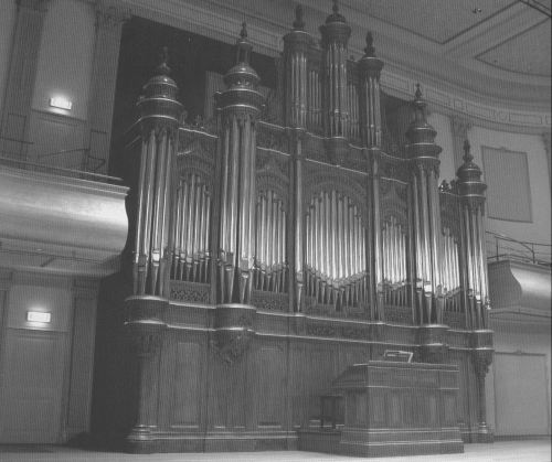 """The Cavaillé-Coll organ in the """"Philharmonie"""" in Haarlem by"""