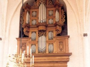 Organ playing in Arp Schnitger's time