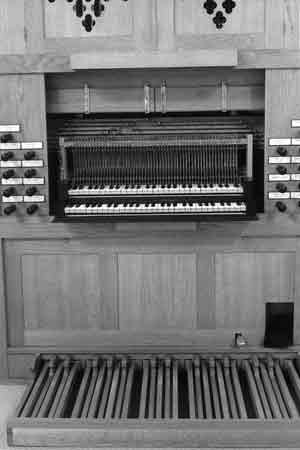 Organ in the Catholic Church in Maurik