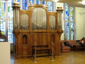 Organ spring in Moscow by Jan Raas