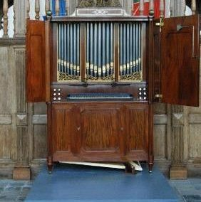 Orgelbouwnieuws Vianen, Grote Kerk (kabinetorgel)