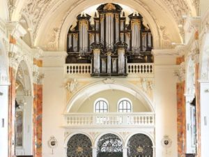 Dutch organs in Rosenheim and Wilten by Cees van der Poel