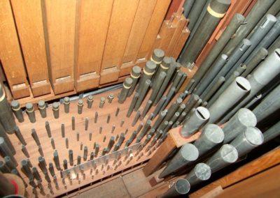 Het orgel in de Marekerk te Leiden