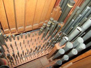 The organ in the Marekerk in Leiden by Cees van der Poel & Sietze de Vries