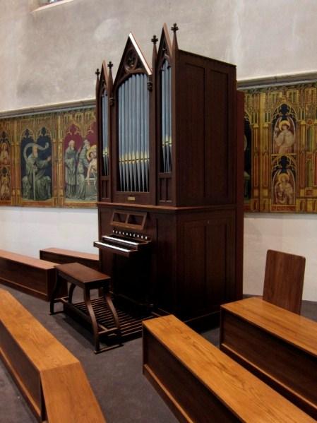 Utrecht St.-Catharinakathedraal koororgel