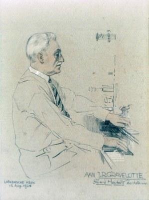 Johan Rudolf Gravelotte, a forgotten organist of The Hague by Herman de Kler