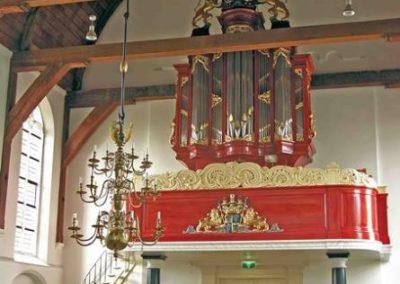 Het J.H.H. Bätz-orgel in de Hervormde Kerk te Benschop