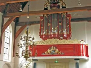 The J.H.H. Bätz organ in the Reformed Church in Benschop by Peter van Dijk