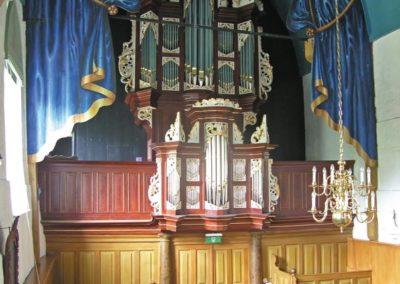 Het orgel in de St.-Margaretakerk te Boksum