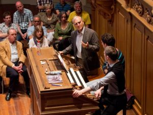 The Improvisation contest in Haarlem: The themes revisited by Jan Hage