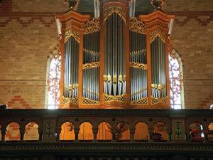 The Vollebregt/Franssen organ in the St.-Odulphuskerk in Assendelft by Cees van der Poel
