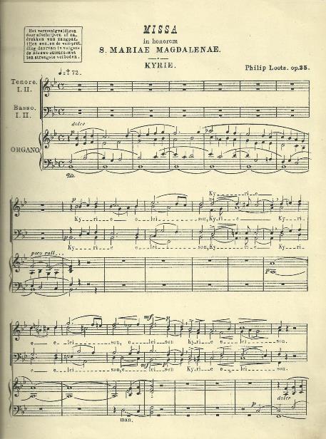 Roman Catholic church music of the 19th century and the organ by Anton Vernooij