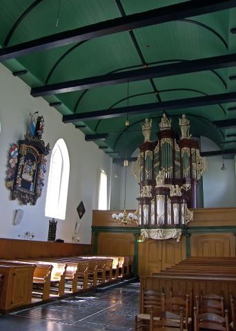 De restauratie van het orgel in de St.-Maartenskerk te Hallum